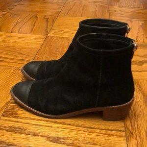 Loeffler Randall Felix bootie in suede/leather